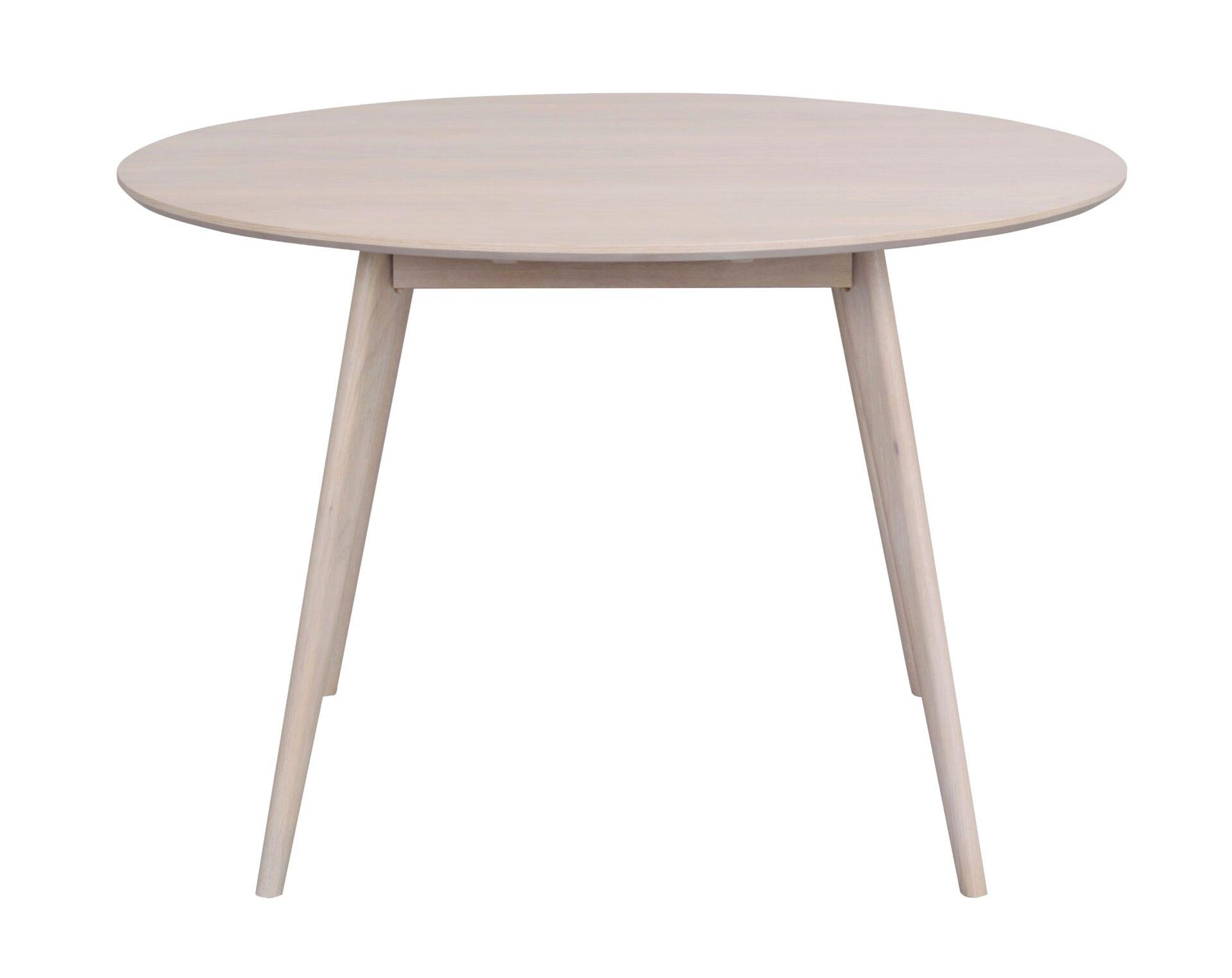 Rowico Yumi Dining Table Round 9 Whitewash Oak