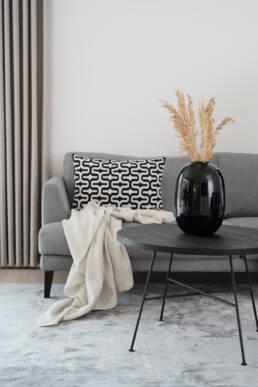 Modern coffee table in black